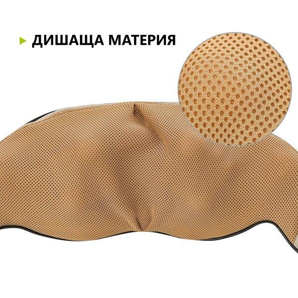 Шиацу масажор 4D, 6 бутона, 16 масажиращи глави