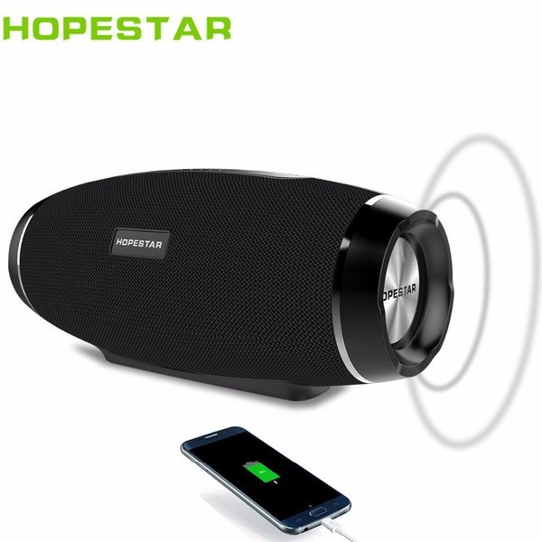 Преносима Bluetooth Тонколона Hopestar H27, Mp3, USB, Wireless Speaker, 2400 mAh