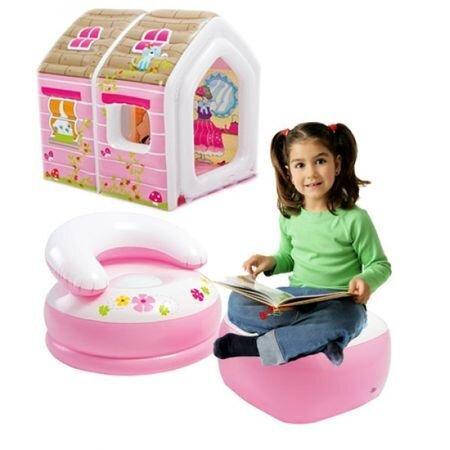 Надуваема къща с аксесоари Little princess